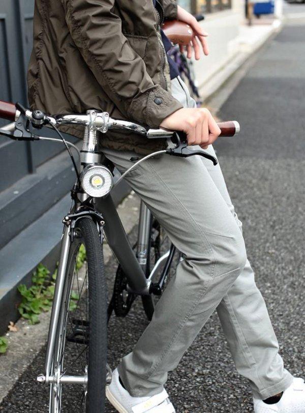 画像2: narifuri ナリフリ  Chino cloth pants slim fit (NF299)