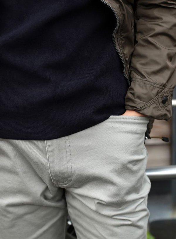 画像3: narifuri ナリフリ  Chino cloth pants slim fit (NF299)