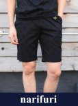 画像1: 【narifuri x Fred Perry】Shadow dot short pants(NFFP-09) (1)