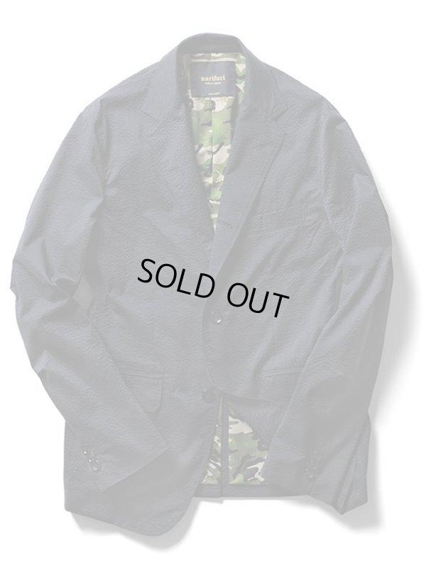 画像2: 【narifuri】 ナリフリ Seersucker pocketable jacket(NF913)