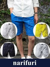 【narifuri】 ナリフリ Typewriter short pants (NF908)