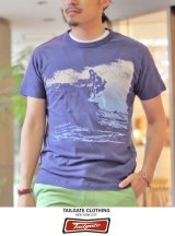 【Tailgate】 テイルゲート S/S TEE  BLUE  MAJOR WAVE