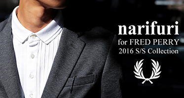 narifuri×fred perry