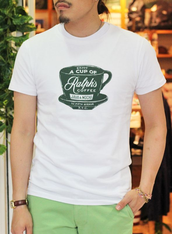 d9d5a6f1 POLO RALPH LAUREN ポロ ラルフローレン RALPH'S CAFE TEE を通販【paper ...