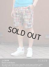 【J.CREW】patchwork shorts