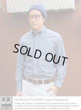 【IKE BEHAR】 paper別注ボタンダウンシャツ MINNESOTA SHIRT