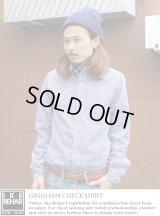 【IKE BEHAR】ギンガムチェックシャツ