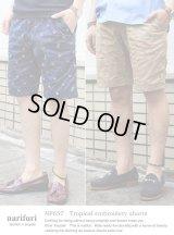 【narifuri】Tropical embroidery shorts 南国刺繍ショーツ (NF657)