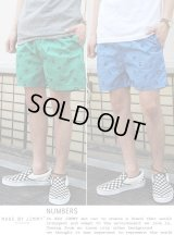 【MADE BY JIMMY】NUMBERS design shorts