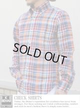 【IKE BEHAR】チェックシャツ CHECK SHIRT