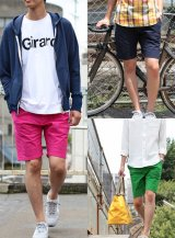 【narifuri】ナリフリ Mini rip pocketable short pants(NF793)