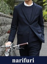 【narifuri】Lamb's wool saxony tailored jacket(NF838)