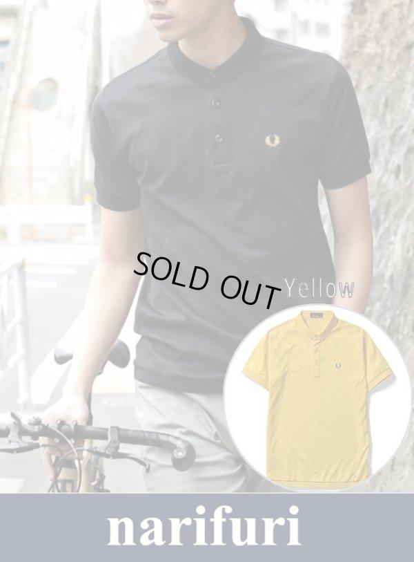 画像1: 【narifuri x Fred Perry】shadow dot polo shirt(NFFP-08)