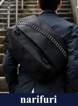 【narifuri】 ナリフリ Studs Messenger bag M : narifuri × Deadman (NF956)