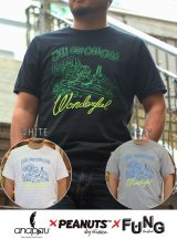 "【anapau】アナパウ SNOOPY HEAVY WEIGHT TEE ""Wonderful"""