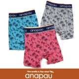 【anapau】ボクサーパンツ パームツリー