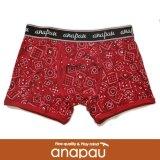 【anapau】 アナパウ  ボクサーパンツ  バンダナ柄 RED P-1702