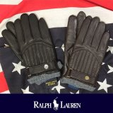 【RALPH LAUREN】ポロ ラルフローレン Quilted Racing Glove